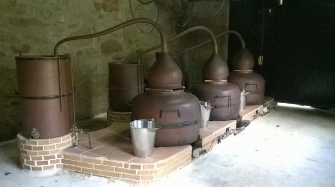Alambiques de cobre