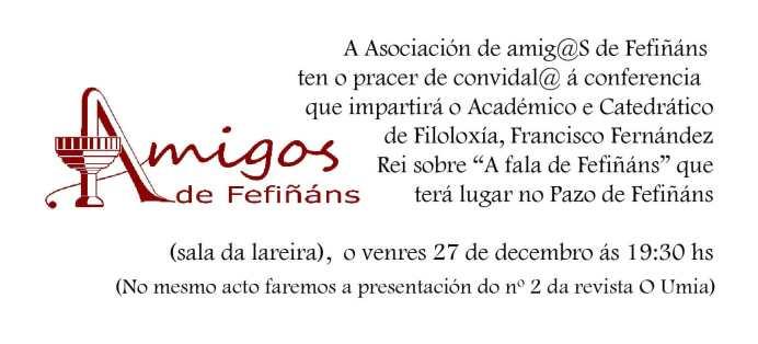 INVITACIÓN PACO FERNANDEZ REI